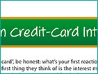 A Lesson In Credit-Card Interest