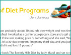 The Dos and Don'ts of Diet Programs