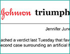 Johnson & Johnson Triumphs in Artificial-Hip Case